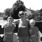 Chantal van Logtesteijn, moeder van Jens en Merle