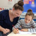 Dieuwertje, leerkracht middenbouw